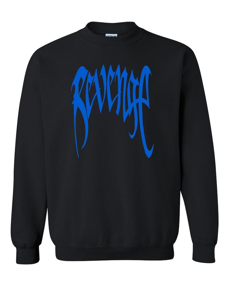 Blue Revenge tee  Unisex S-2XL Unisex Crewneck Sweatshirt Tee