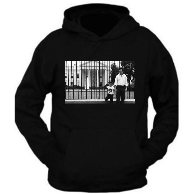 Pablo Escobar With His Son in The White House Usa Tee Hoodie