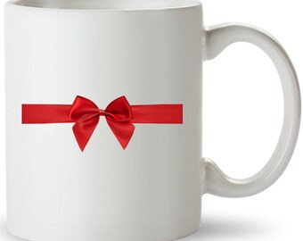 Great Christmas Gift. White Ceramic 11 oz. Coffee  Mug