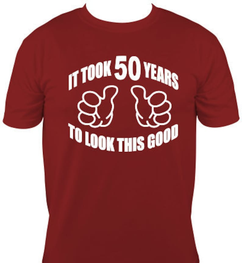 50 Years Old Birthday T Shirt Adult Funny Turning