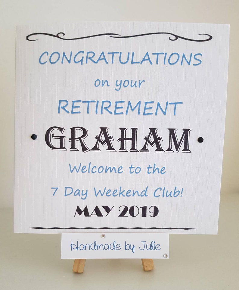 Funny Retirement Card GC273