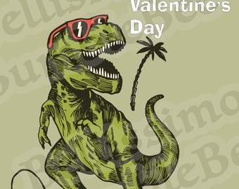 Valentines Day, dinosaurs, class party