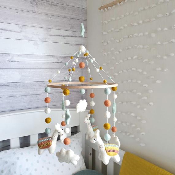 Llama Baby Mobile Nursery Mobile Cot Mobile Crib Mobile