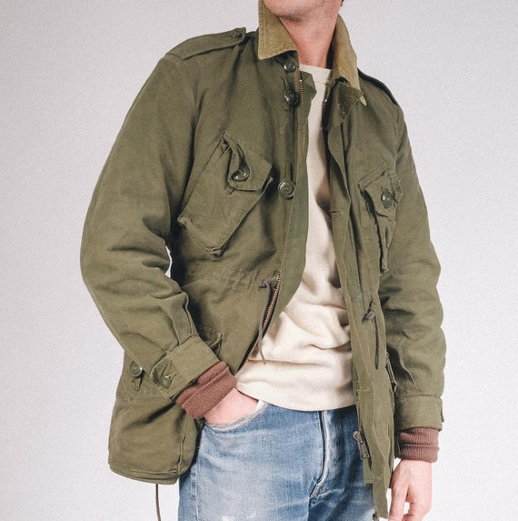 Canadian Field Jacket, vintage military style - m6