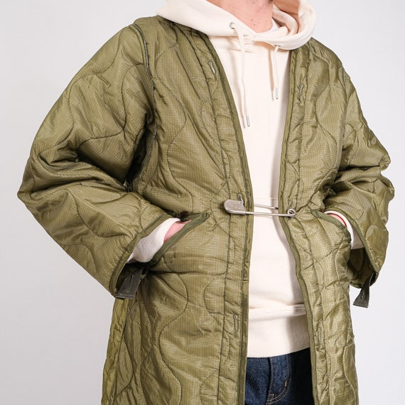1980's US ARMY Liner, vintage military jacket - do
