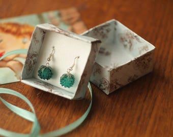 Earrings for women and for girls. Berries.