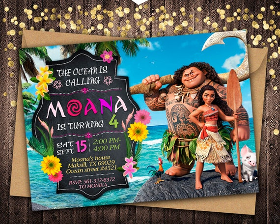photo regarding Printable Moana Invitations identified as Moana Invitation, Moana Birthday, Moana Invite, Moana Occasion, Moana Printable, Moana Electronic, Moana Card