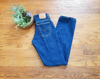 Levi 505 High-Waisted Jeans