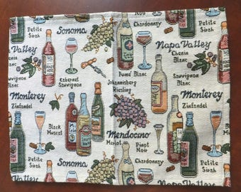 Tapestry Placemat Set of 4- Napa Valley