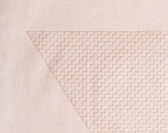 Geometric, Lightweight Cotton tote