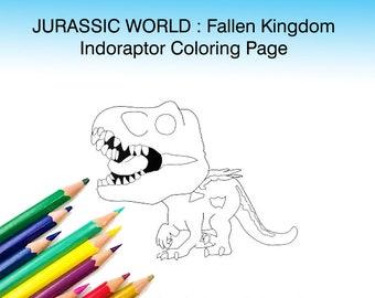 T Rex For Coloring Etsy Au