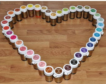 Sugarflair Pro quality food colouring paste - 25g pots