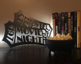 Theater Room   Movie Tickets   Metal Wall Art   Media Room Decor   Metal  Sign   Movie Night   Movies   Gifts For Him   Home Theater   Gifts