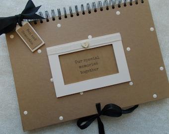 Personalised Handcrafted Special Memorys Scrapbook Photo Album