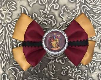 Gryffindor Inspired Bow