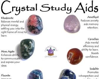 Crystal Set of Study Aids