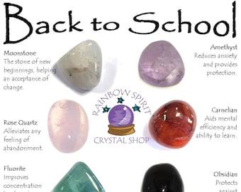Back to School Crystal Set