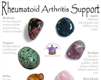 Rheumatoid Arthritis Crystal Support Set
