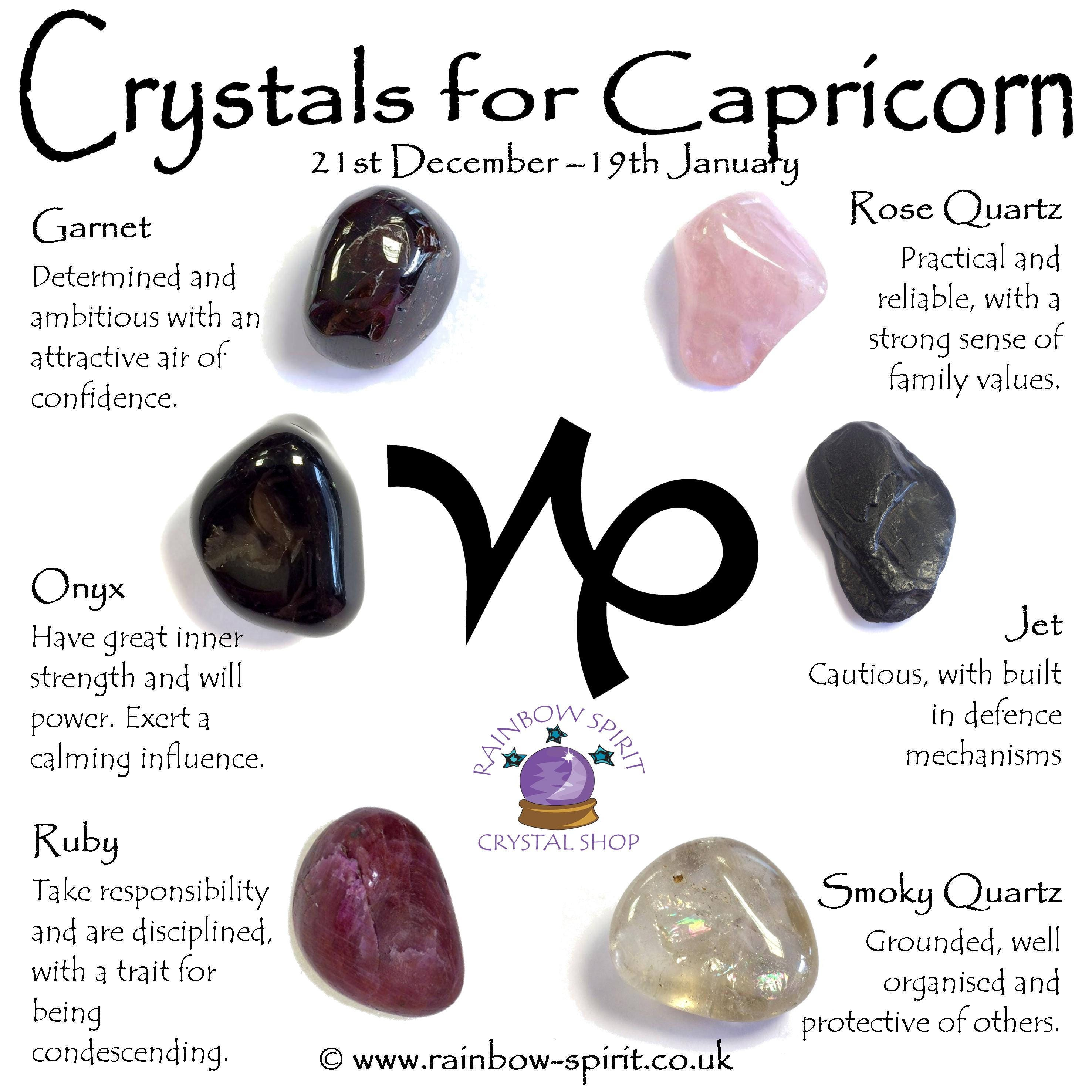 Which stone suits Capricorn