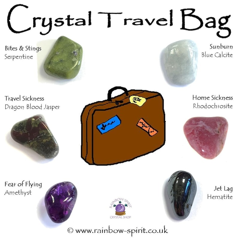 Travel Bag Crystal Set