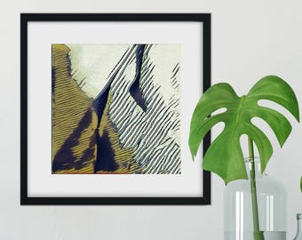 Slopes: Abstract Fine Art Print
