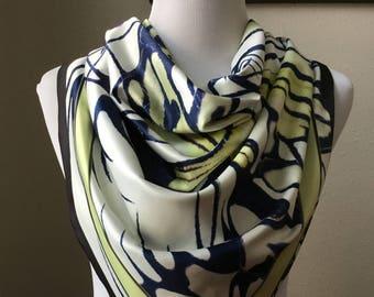 Satin silk scarf, edition 2