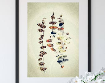Glimpses: Abstract Fine Art Print