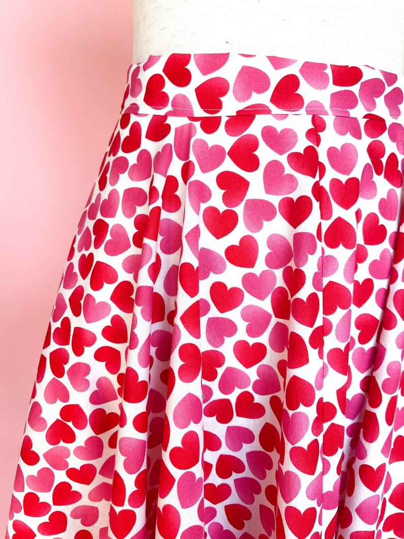 Heart Circle Skirt Be Mine