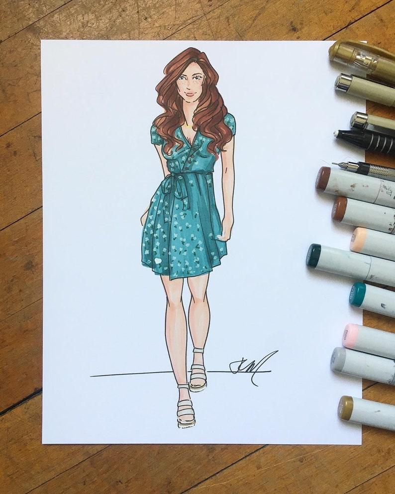 Custom Fashion Illustration image 0
