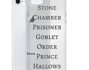 Harry Potter Series Inspired iPhone Case
