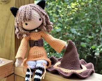 Jinx the Cat Crochet Doll Pattern / Amigurumi / Photo Tutorial