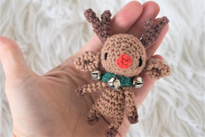 Christmas Reindeer Amigurumi Toy Crochet Reindeer Amigurumi Deer ... | 531x794