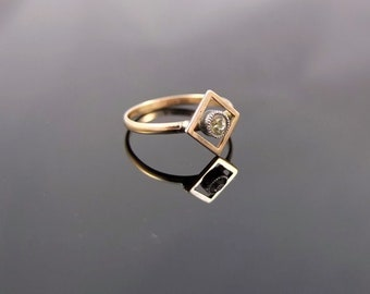 9ddd267e68a8c Rose gold rings | Etsy
