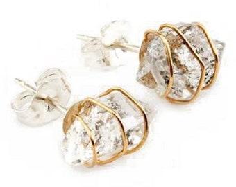 16 inch Herkimer Diamond Quartz graduated 3x4 to 4x10 mm appx 100/% Natural as it as mined # 1271 alike Diamod,creative