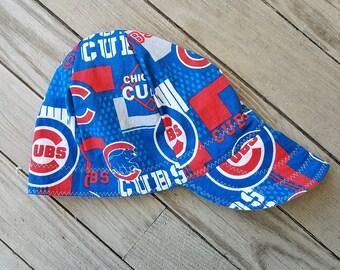 0cba980b209eb Custom Chicago Cubs MLB welding cap
