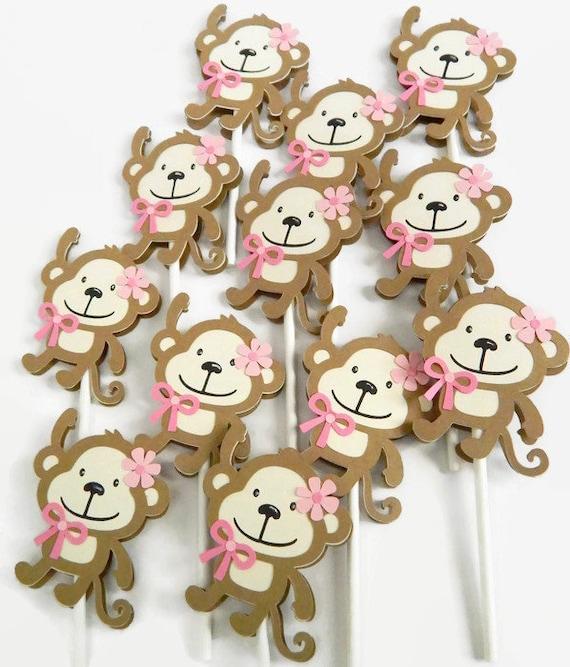 a Cupcake Monkey Boy//Girl Dies .. to die for metal cutting craft die Build