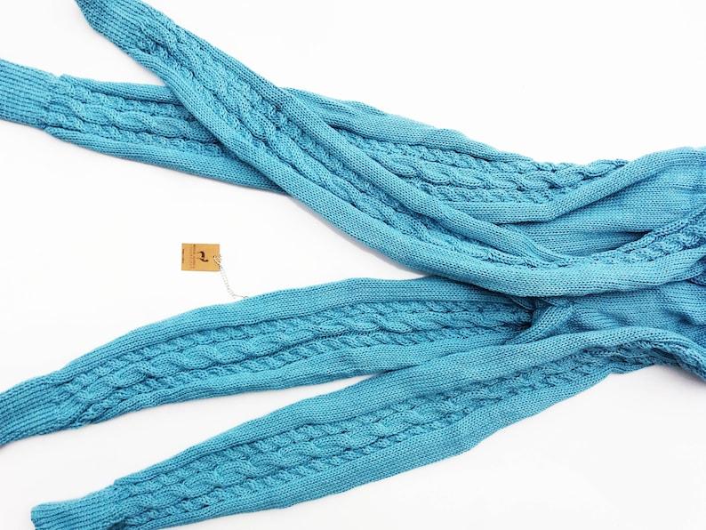 Softness 1.90 Lbs- 890 gr Handmade Ultra Silky Deluxe Hypoallergenic 100/% Peruvian Royal Alpaca knitted LEGGINGS Braided Organic