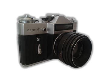 ZENIT-E Camera with HELIOS Lens