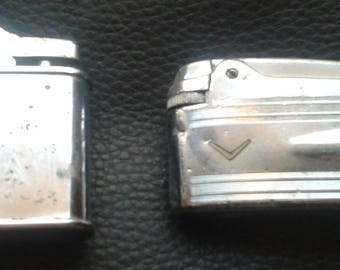 2 vintage lighters for repair