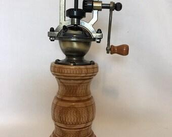 Antique Brass Collectibles Antique Style Hand Crank Pepper Grinder