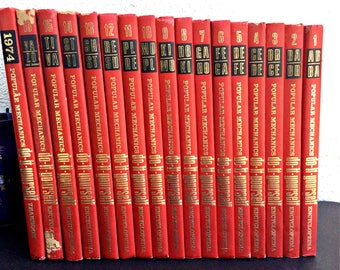 1961 popular mechanics handyman encyclopedia set do it yourself books diy popular mechanics book decor garage decor projects red decor encyclopedia fix it boks solutioingenieria Images