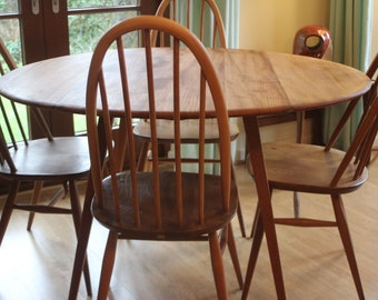 Round Dining Table Etsy