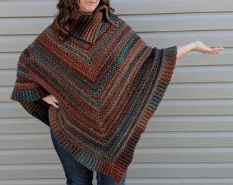 Crochet Pattern Poncho, Crochet Poncho Pattern, Crochet Poncho Women, Crochet Poncho, Crochet Pattern, Poncho Pattern, PDF Instant Download