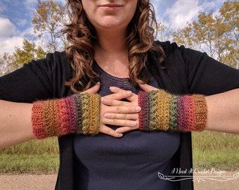 Crochet Glove Pattern, Crochet Pattern Gloves, Fingerless Gloves Pattern, Crochet Gloves, PDF Instant Digital Download, Free Pattern