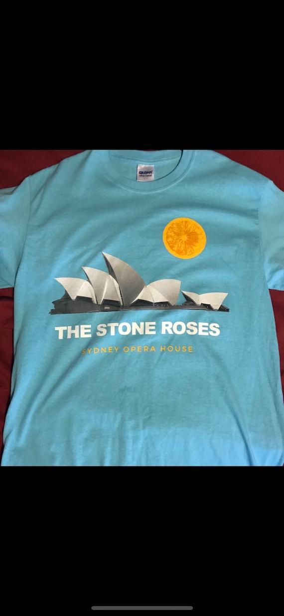 Stone roses sydney opera house gig t shirt