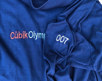 808 state cubik olympic long sleeved t shirt