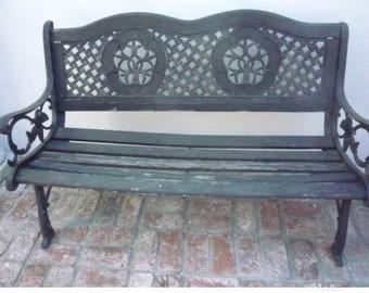 Jim Morrison's Garden Bench.
