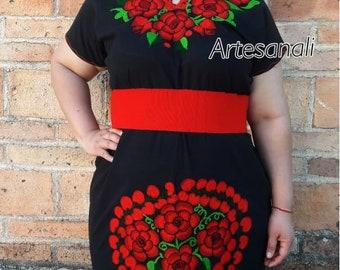 Mexican dress plus size   Etsy