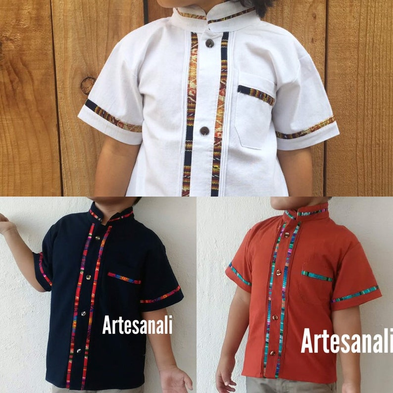 f299ee8345d52 Mexican babies and boys shirts / Mexican boys Guayaberas