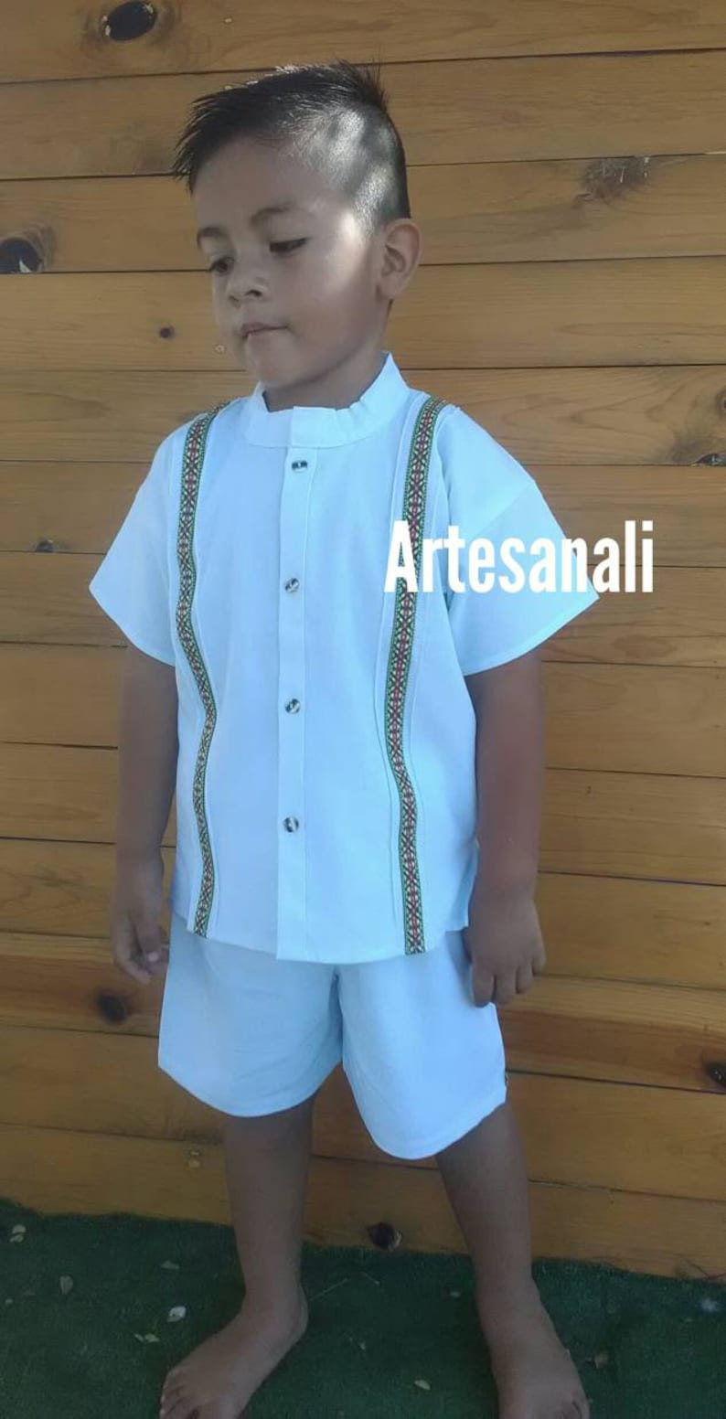 4492c8a07a275 Mexican Boys Guayaberas/mexican set boys size 4-5 years old
